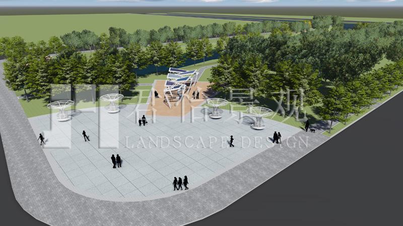 青口河风光带景观设计       : 赣榆东温庄水库景观规划设计