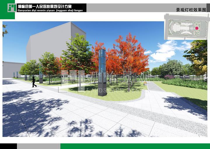 灌南南六塘河桥头公园景观设计